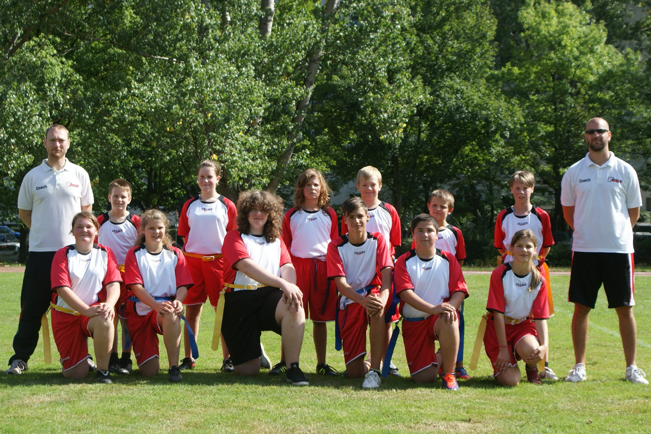 Teamfoto Flag Knights 2012