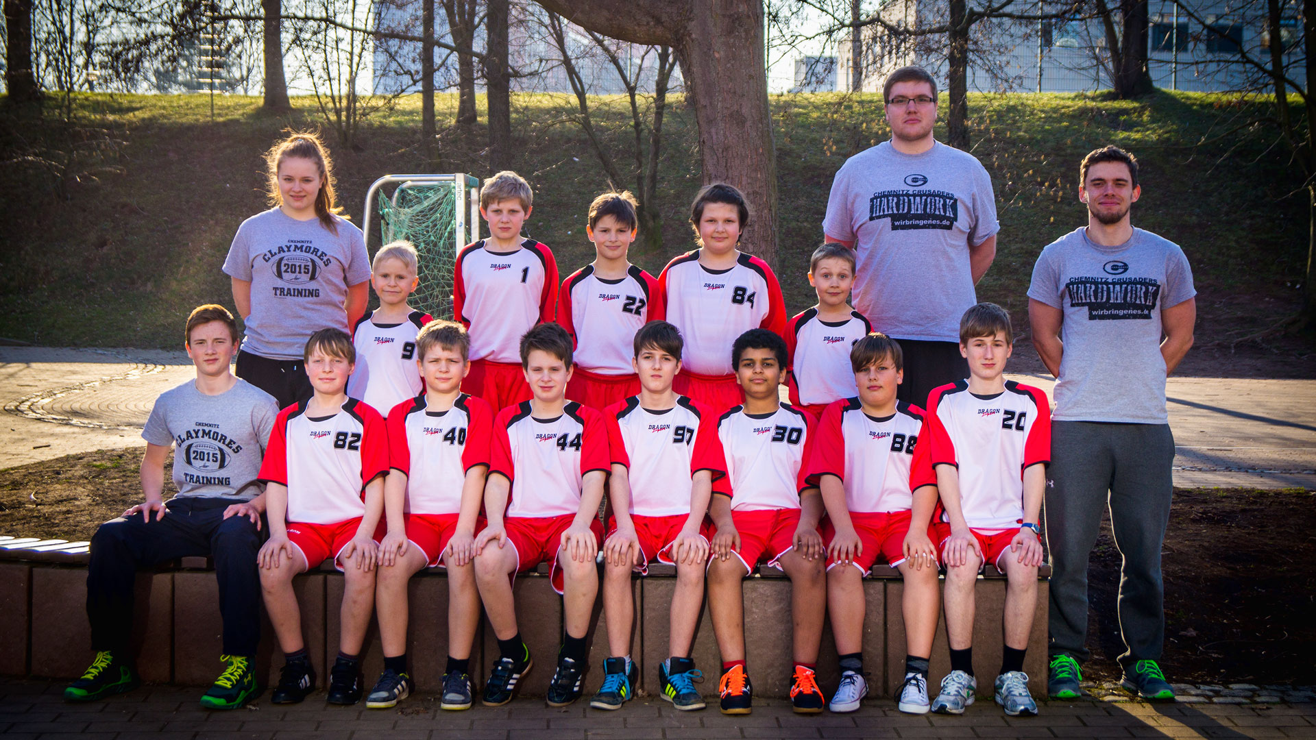 Teamfoto Flag Knights 2015