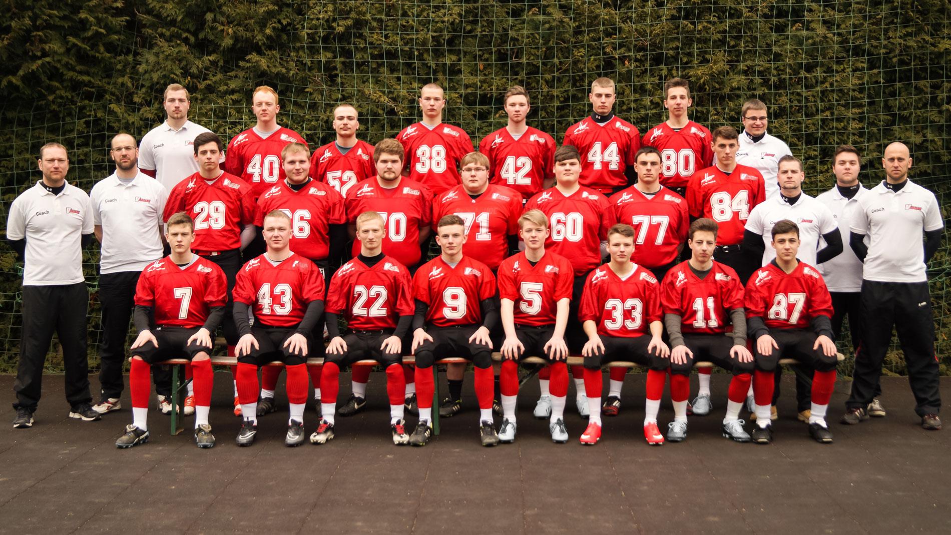 Teamfoto Varlets 2015